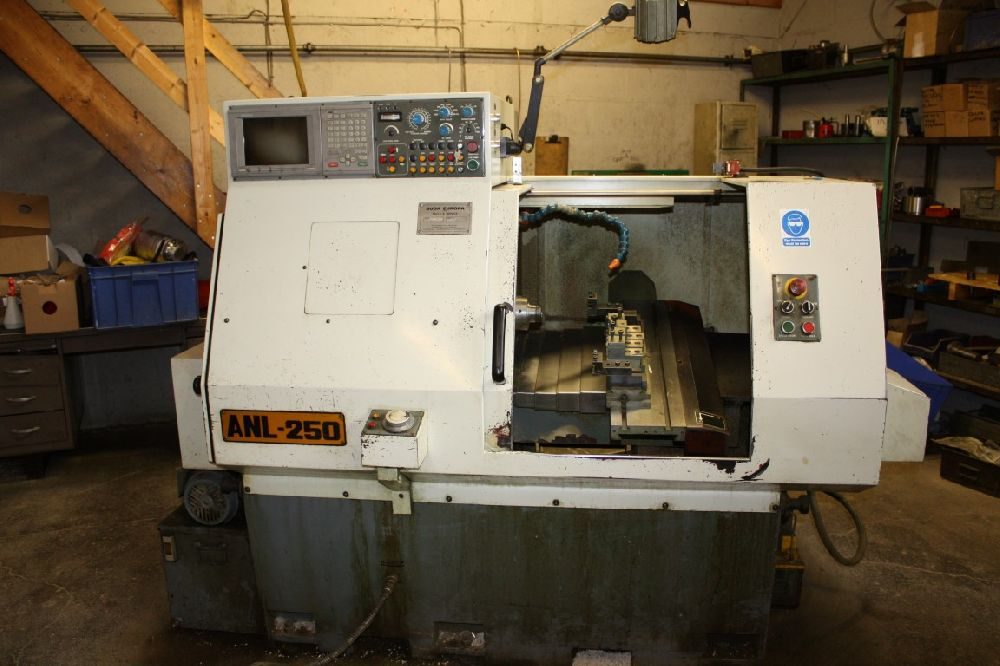 SUGA ANL-250 PLATEN TYPE CNC LATHE (FOR SPARES OR REPAIR - SEE DESCRIPTION)