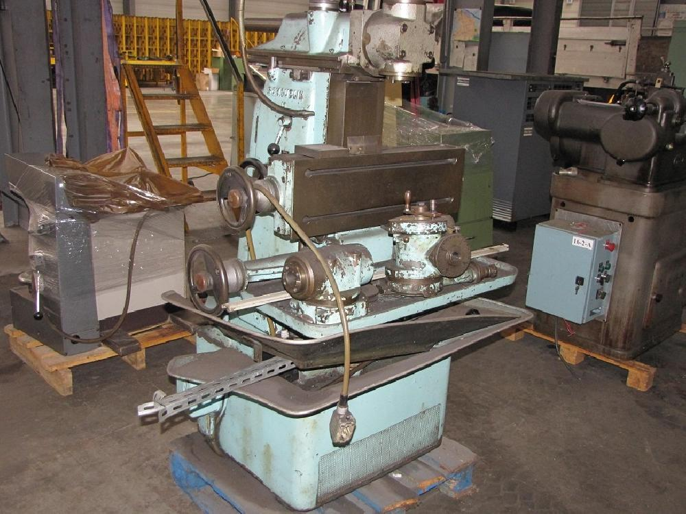 SCHAUBLIN SY13 MILLING MACHINE WITH VARIOUS HEADS