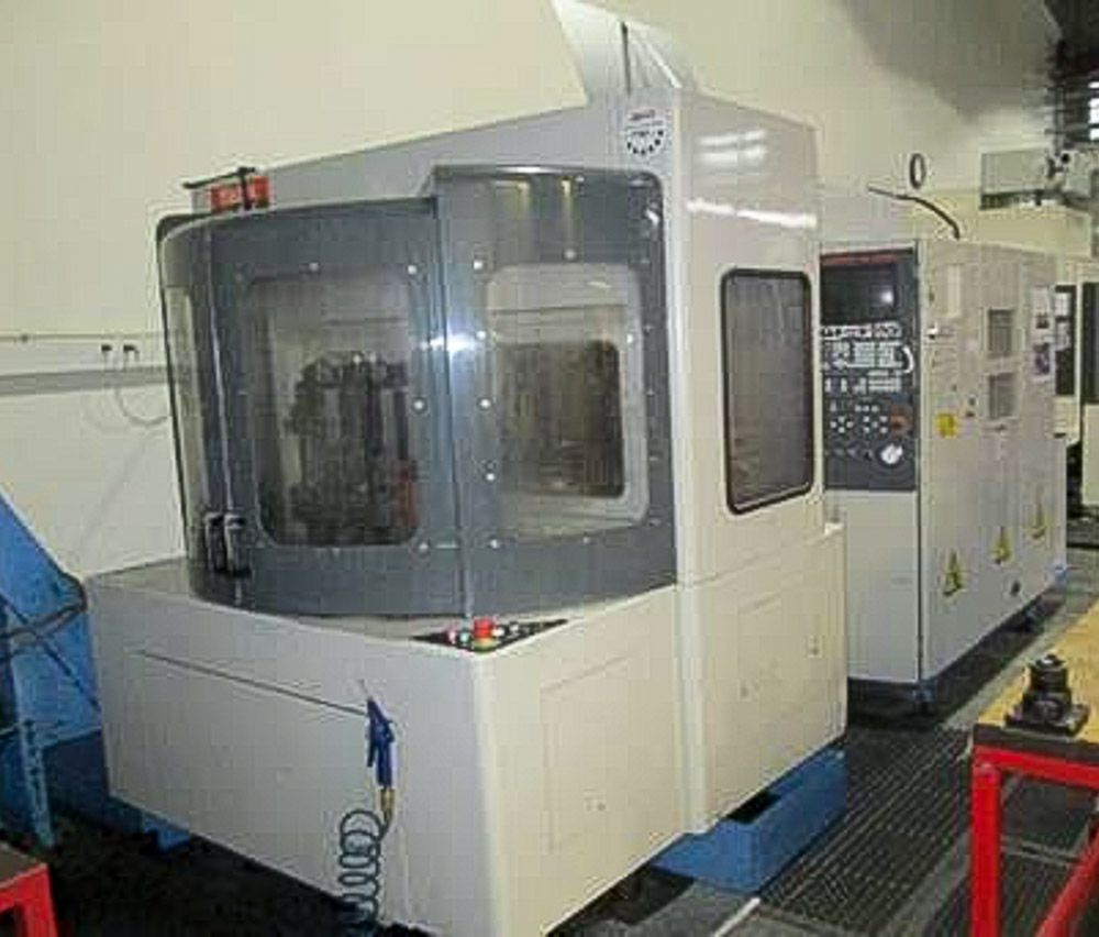 MAZAK H415 CNC TWIN PALLET HORIZONTAL MACHINING CENTRE