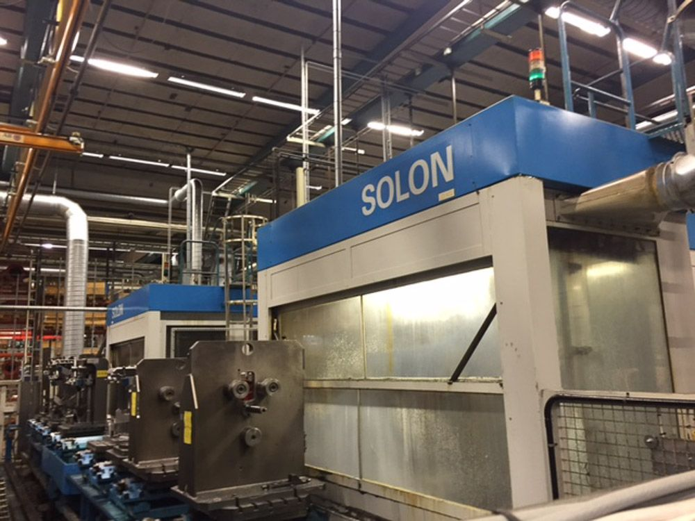 DORRIES SCHARMANN SOLON 800 CNC HORIZONTAL MACHINING CENTRE (QTY 2)