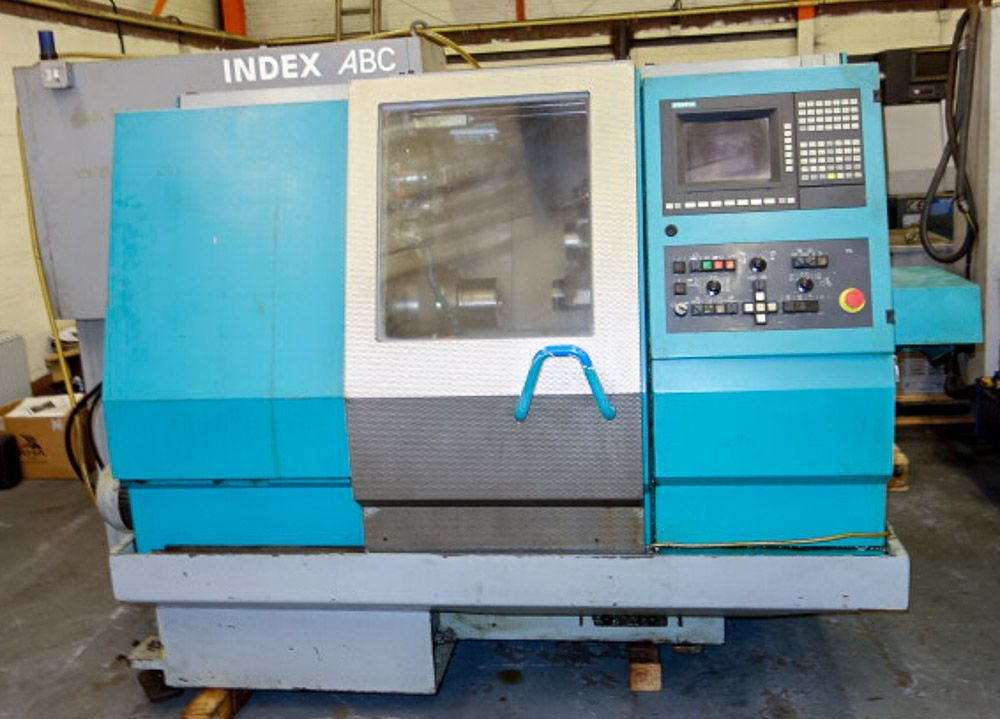 INDEX ABC SPEEDLINE CNC LATHE (60MM CAPACITY)