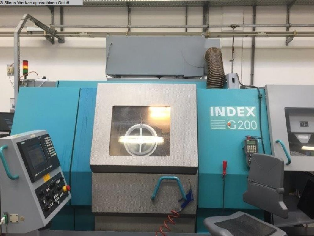 INDEX G200 Y CNC TURNING AND MILLING CENTRE