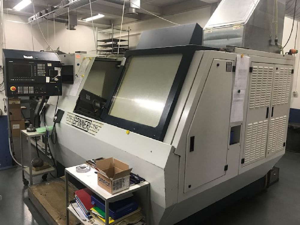 SPINNER TM 7 AXIS CNC TURNING CENTRE