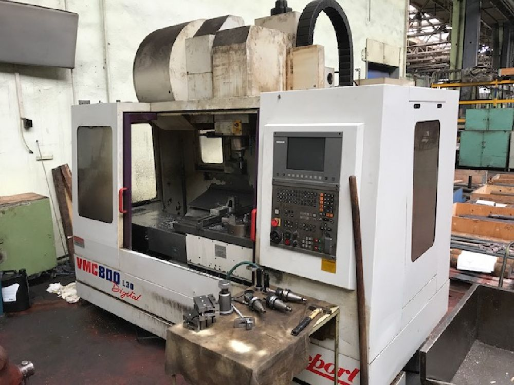 an overview of the vertical mill machining center High-precision, high-productivity, double-column vertical machining center by process all machines multi-tasking 5-axis on a 5-axis machining center.