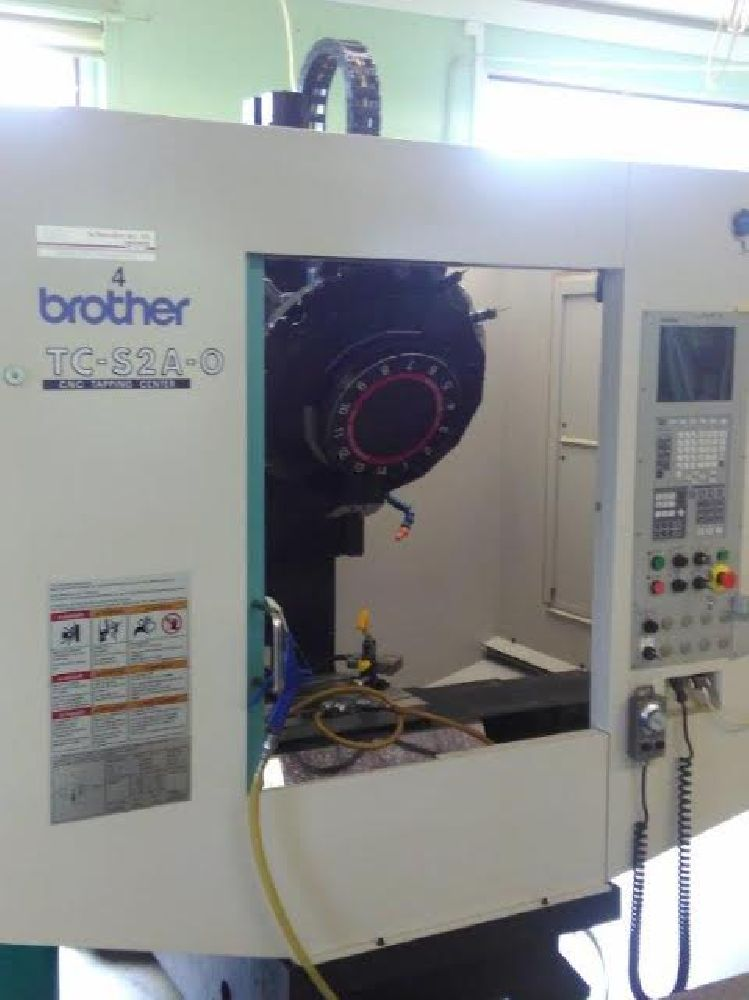 BROTHER TC S2A-0 CNC DRILL/TAP VERTICAL MACHINING CENTRE