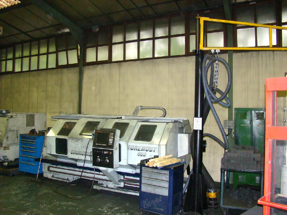 CHURCHILL FOREMOST 660 CNC LATHE (2.3M BETWEEN CENTRES)
