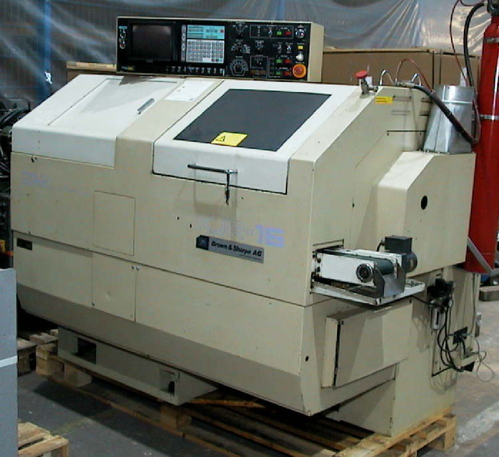 STAR KJR 16 CNC SLIDING HEAD LATHE (X Y Z C AND B AXES AND MUCH TOOLING)