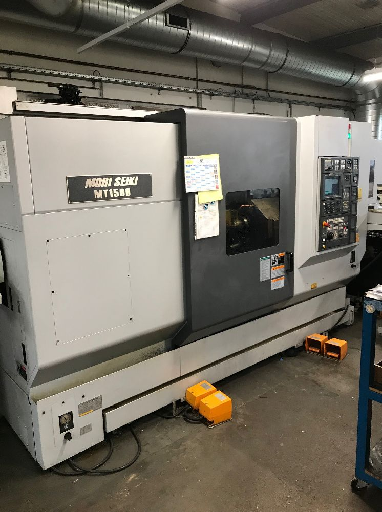 MORI SEIKI MT1500S 5 AXIS TWIN SPINDLE TURNING CENTRE