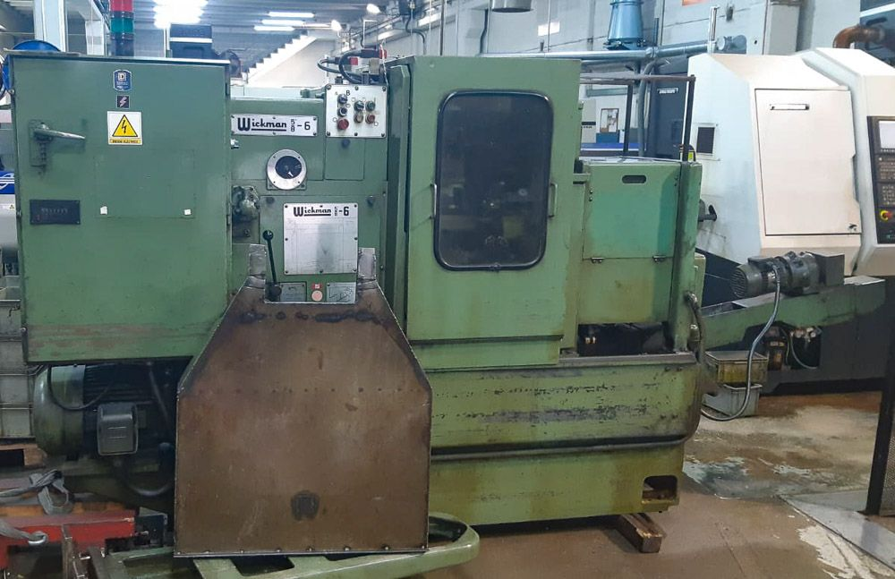 "WICKMAN 5/8"" X 6 SPINDLE AUTOMATIC LATHE"
