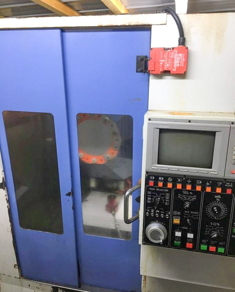 LEADWELL TDC 450 CNC VERTICAL DRILL TAPPING MACHINE