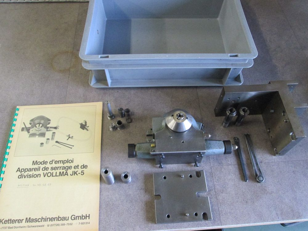 VOLLMA JK-5 DIVIDING HEAD