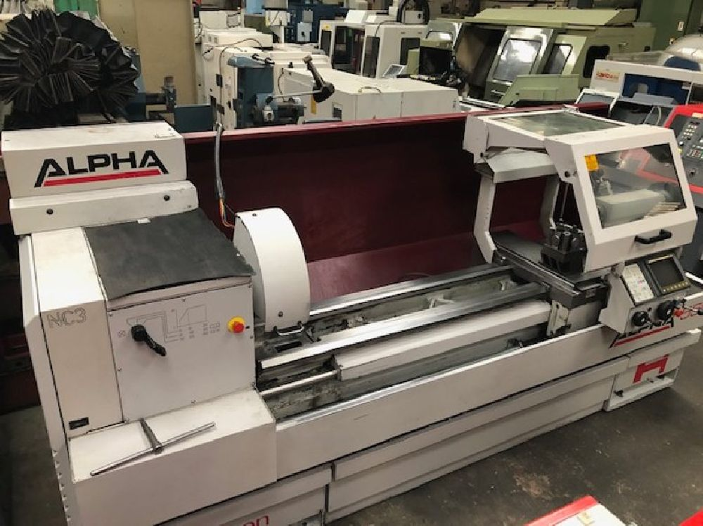 HARRISON ALPHA 550 SEMI CNC TEACH LATHE