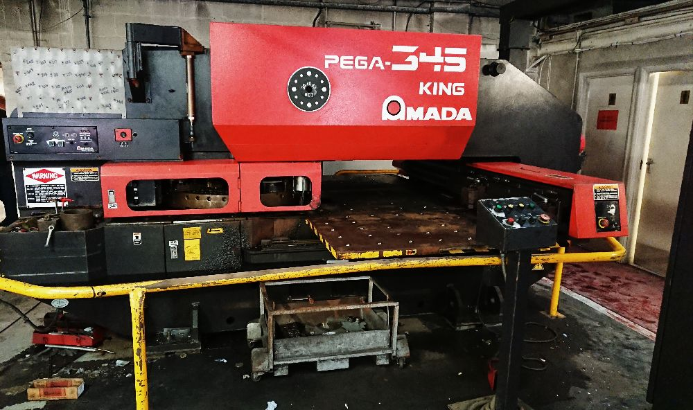AMADA PEGA 345 KING CNC TURRET PUNCHING MACHINE
