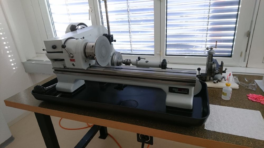 SCHAUBLIN TO-102 PRECISION TOOL MAKERS LATHE