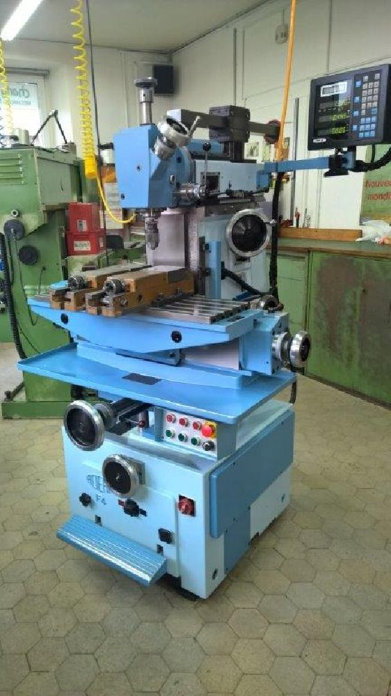 ACIERA F4 MILLING MACHINE (AS NEW CONDITION)