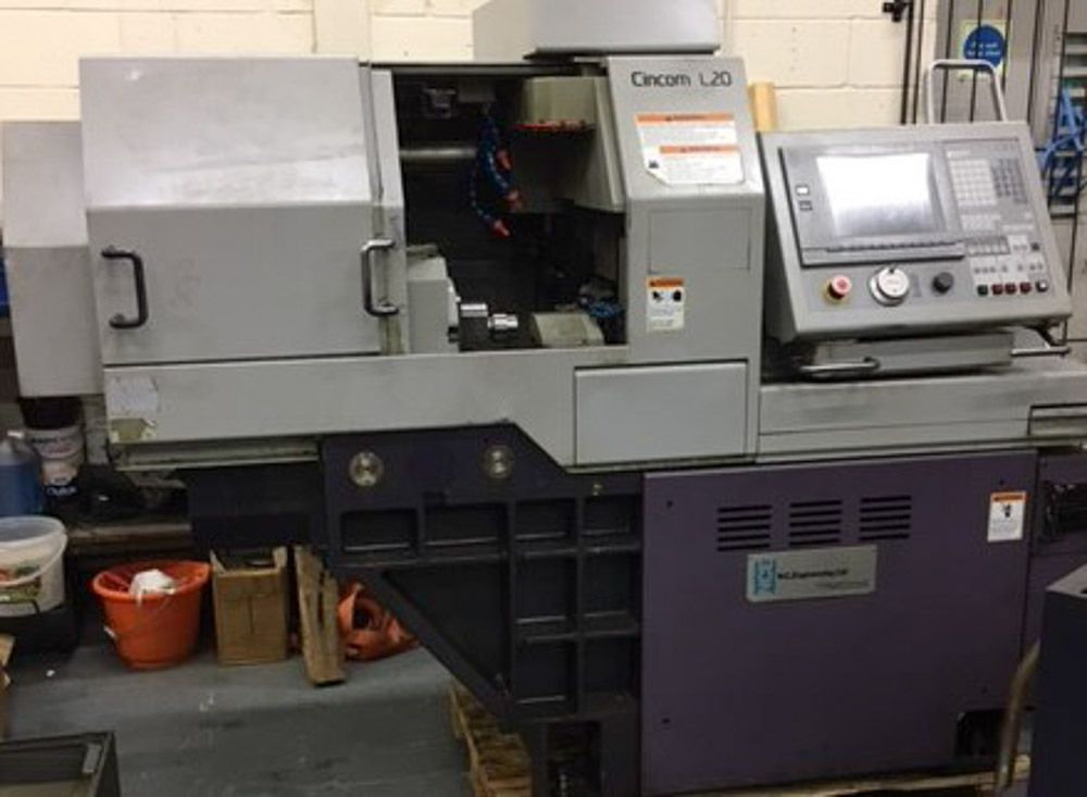 CITIZEN L20 CNC SWISS TYPE SLIDING HEAD AUTOMATIC LATHE