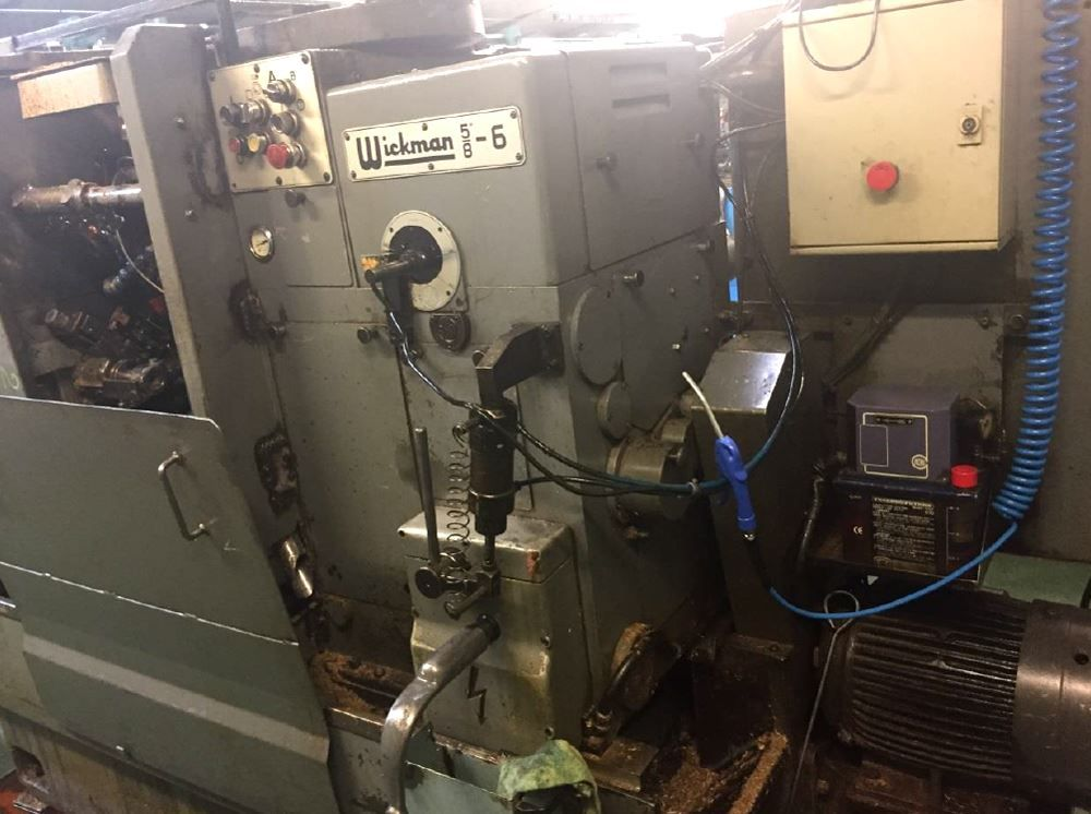 "WICKMAN 5/8"" X 6 SPINDLE AUTOMATIC LATHES (PACKAGE OF 2 MACHINES)"