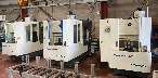KITAMURA MYCENTER HX250 & HX250I CNC HORIZONTAL MACHINING CENTRE (PACKAGE OF 3 MACHINES)