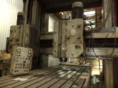 TITAN FLP 2000 PLANO MILLING MACHINE (1985) (2M X 6.23M TABLE)