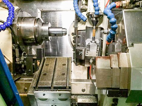 GLEASON-PFAUTER P60 CNC GEAR HOBBER WITH AUTO LOADIER AND SKIVING