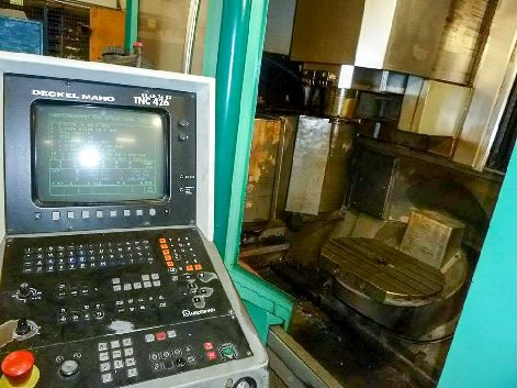 DECKEL MAHO DMU 50V 5-AXIS CNC VERTICAL MACHINING CENTRE