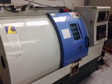 LEADWELL T6 2 AXIS CNC LATHE
