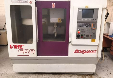 BRIDGEPORT VMC 600 CNC VERTICAL MACHINING CENTRE