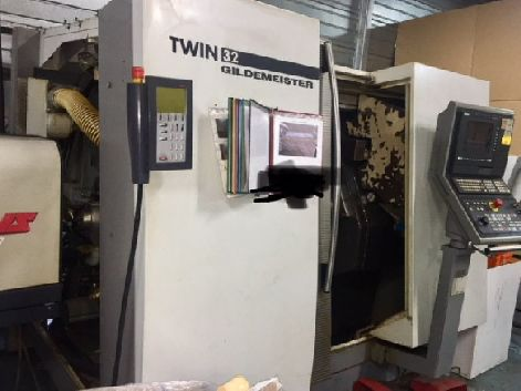 GILDEMEISTER TWIN 32 CNC TURNING CENTRES (PACKAGE OF TWO MACHINES)