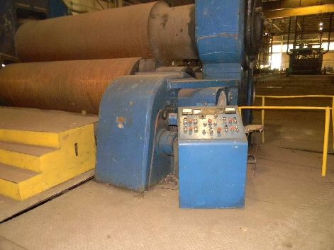 BOLDRINI PSI-3650X152 150MM X 3600MM 3-ROLL PLATE BENDING ROLLS - URGENT SALE REQUIRED
