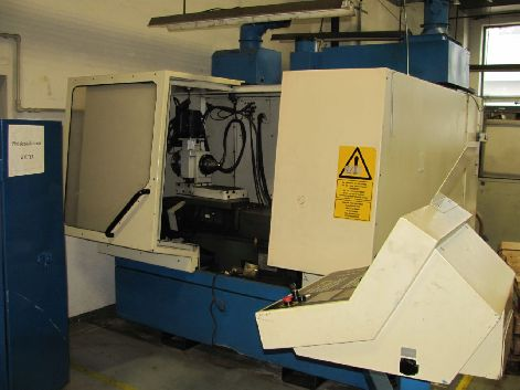 WALTER HELI 45 CNC TOOL AND CUTTER GRINDER WITH TOOLING
