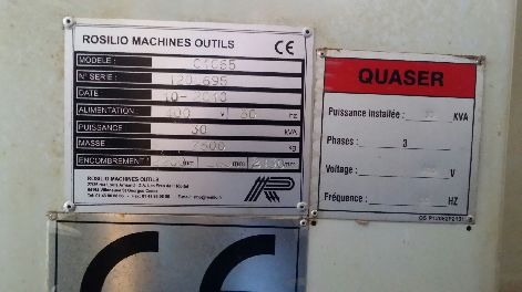 QUASER MV204 CNC VERTICAL MACHINING CENTRE