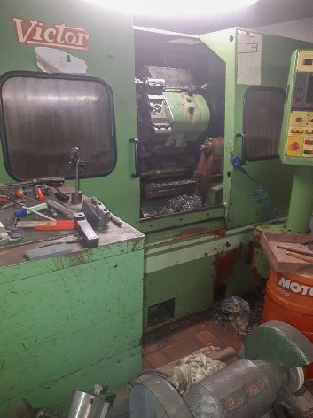 PACKAGE OF 2 CNC LATHES - NAKAMURA TMC15 & VICTOR TNS-3
