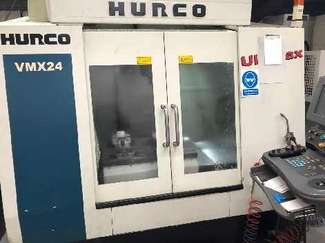 HURCO VMX24 & HURCO VMX24S CNC VERTICAL MACHINING CENTRES (PACKAGE OF 2 MACHINES)