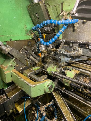 "WICKMAN 1-3/4"" X 6 SPINDLE AUTOMATIC LATHE WITH CUCHI BARLOADER"