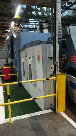 MCM CLOCK TANK 1900 MP2 6 AXES CNC TWIN PALLET UNIVERSAL MACHINING CENTRE
