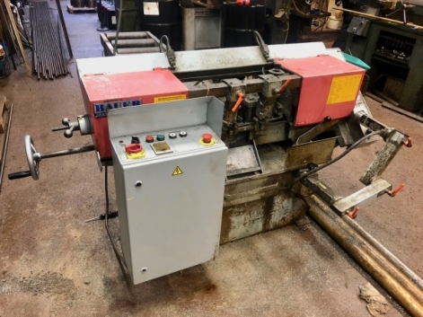 BAUER ES 180A AUTOMATIC HORIZONTAL BANDSAW